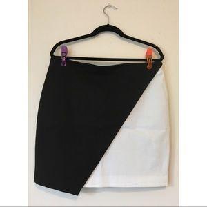 Banana Republic Black & White skirt